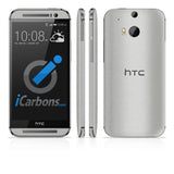 HTC ONE M8 Skins - Brushed Metal - iCarbons - 2