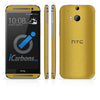 HTC ONE M8 Skins - Brushed Metal - iCarbons - 3