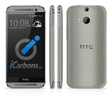HTC ONE M8 Skins - Brushed Metal - iCarbons - 4