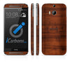 HTC ONE M8 Skins - Wood Grain - iCarbons - 2