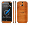 HTC ONE M8 Skins - Wood Grain - iCarbons - 3