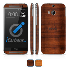 HTC ONE M8 Skins - Wood Grain