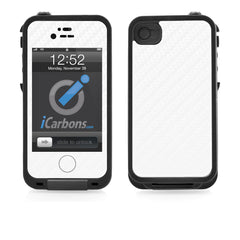 LifeProof Case iPhone 4/4S Skin - White Carbon Fiber