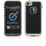 LifeProof Case iPhone 5 Skin - Black Carbon Fiber - iCarbons - 1