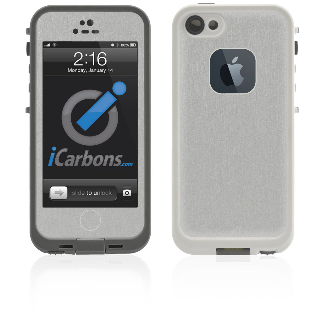 LifeProof Case iPhone 5 Skin - Brushed Aluminum - iCarbons