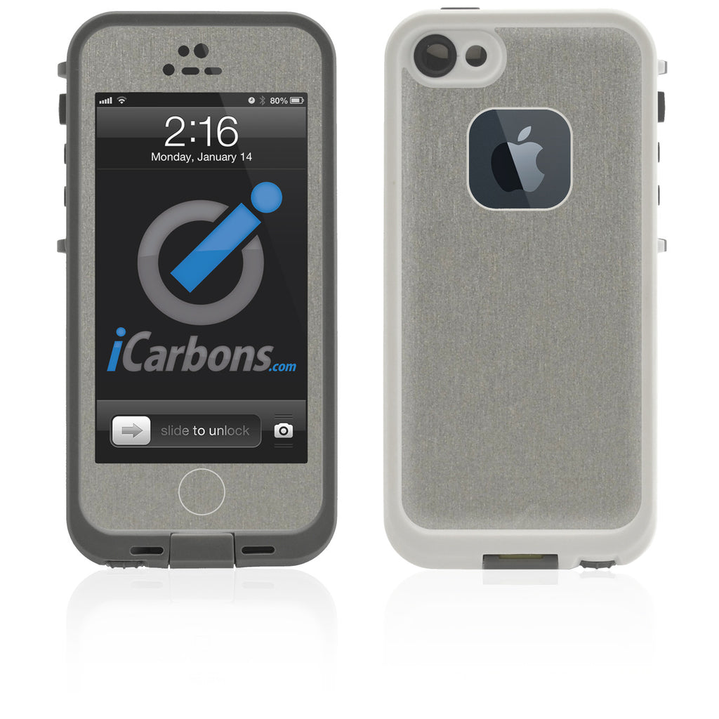 LifeProof Case iPhone 5 Skin - Brushed Titanium - iCarbons