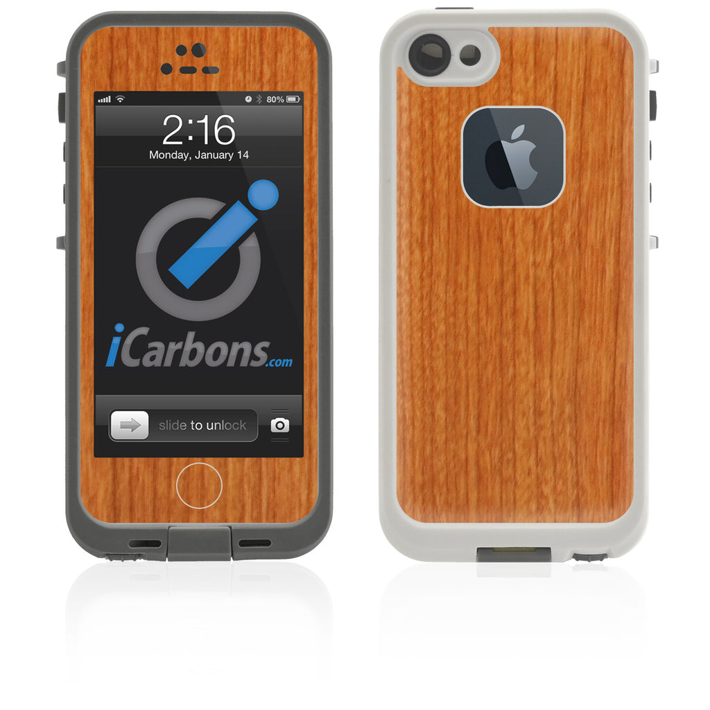 LifeProof Case iPhone 5 Skin - Light Wood - iCarbons