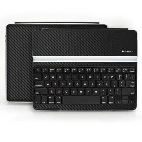 Logitech Ultrathin Keyboard Cover (iPad 2, 3rd&4th Gen.) - Black Carbon Fiber - iCarbons - 1