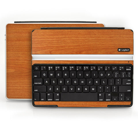 Logitech Ultrathin Keyboard Cover (iPad 2, 3rd&4th Gen.) - Light Wood - iCarbons - 1
