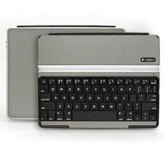 Logitech Ultrathin Keyboard Cover (iPad 2, 3rd&4th Gen.) - Brushed Titanium