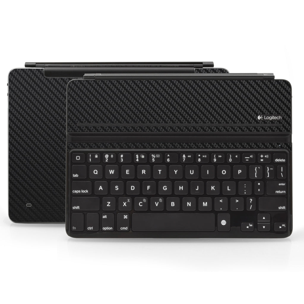 Logitech Ultrathin AIR Keyboard Cover - Black Carbon Fiber - iCarbons
