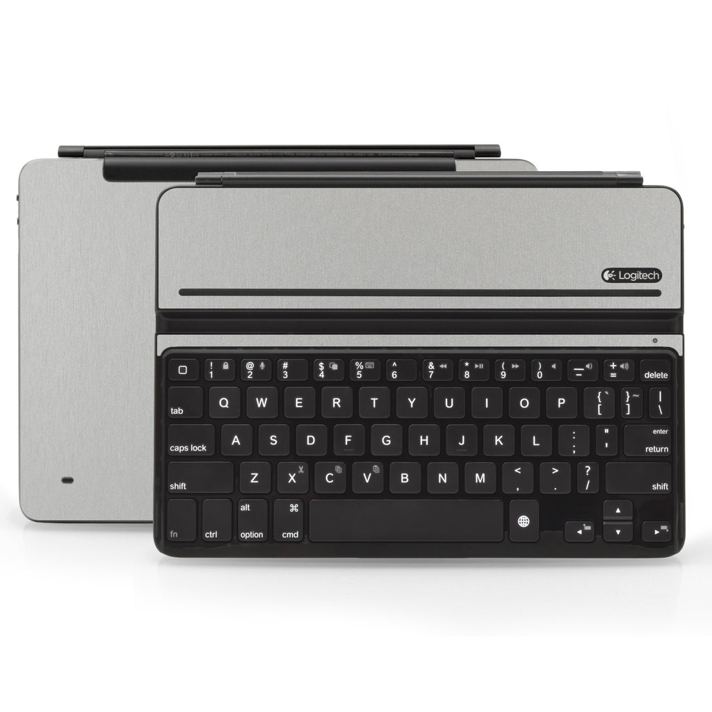 Logitech Ultrathin AIR Keyboard Cover - Brushed Aluminum - iCarbons
