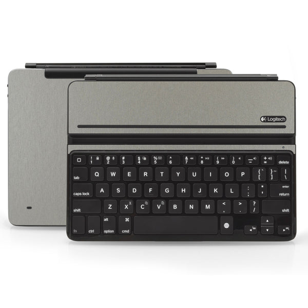 Logitech Ultrathin AIR Keyboard Cover - Brushed Titanium - iCarbons - 1