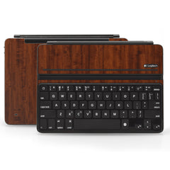 Logitech Ultrathin AIR Keyboard Cover - Dark Wood