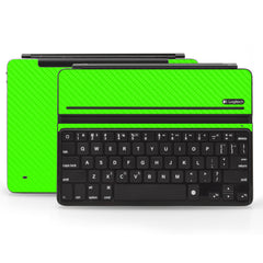 Logitech Ultrathin AIR Keyboard Cover - Green Carbon Fiber