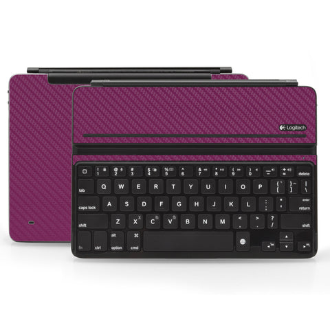 Logitech Ultrathin AIR Keyboard Cover - Purple Carbon Fiber - iCarbons