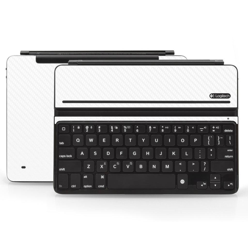 Logitech Ultrathin AIR Keyboard Cover - White Carbon Fiber - iCarbons