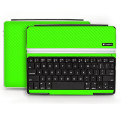 Logitech Ultrathin Keyboard Cover (iPad 2, 3rd&4th Gen.) - Green Carbon Fiber