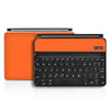 Logitech Ultrathin Keyboard Cover Mini Skin - Orange Carbon Fiber - iCarbons - 2