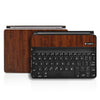 Logitech Ultrathin Keyboard Cover Mini Skin - Dark Wood - iCarbons - 2