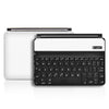 Logitech Ultrathin Keyboard Cover Mini Skin - White Carbon Fiber - iCarbons - 2