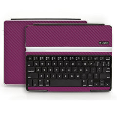 Logitech Ultrathin Keyboard Cover (iPad 2, 3rd&4th Gen.) - Purple Carbon Fiber