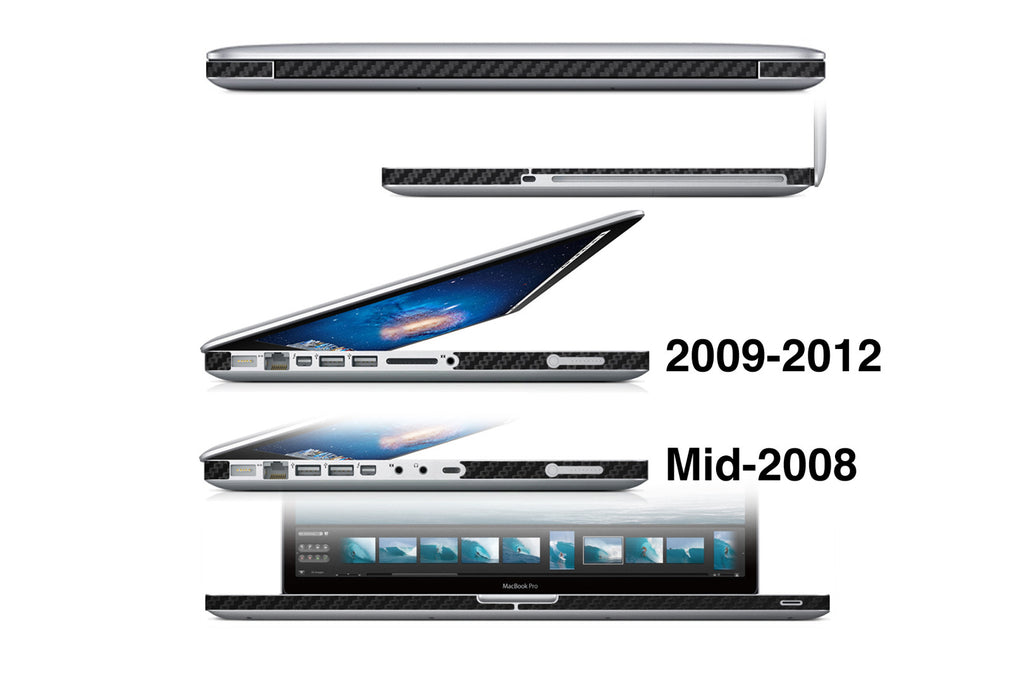 "MacBook Pro 13"" Non-Retina (Mid 2008 - Mid 2016) - Sides Only - iCarbons - 1"