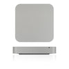 Mac Mini Skins - Brushed Metal - iCarbons - 2