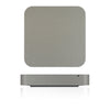 Mac Mini Skins - Brushed Metal - iCarbons - 5