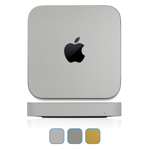 Mac Mini Skins (Late 2018-Current) - Brushed Metal