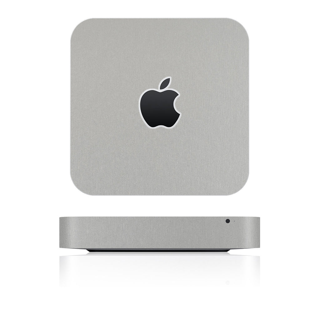 Mac Mini Skins - Brushed Metal - iCarbons - 1