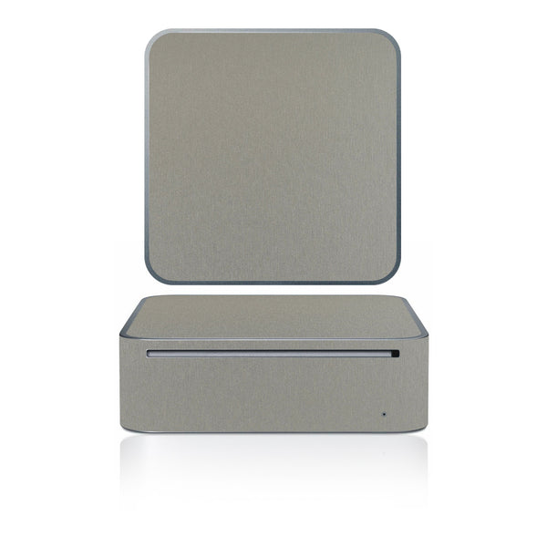 Mac Mini 2005-2009 - Brushed Titanium Carbon Fiber - iCarbons