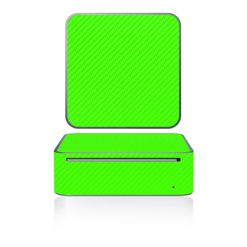 Mac Mini 2005-2009 - Green Carbon Fiber - iCarbons