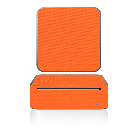 Mac Mini 2005-2009 - Orange Carbon Fiber - iCarbons