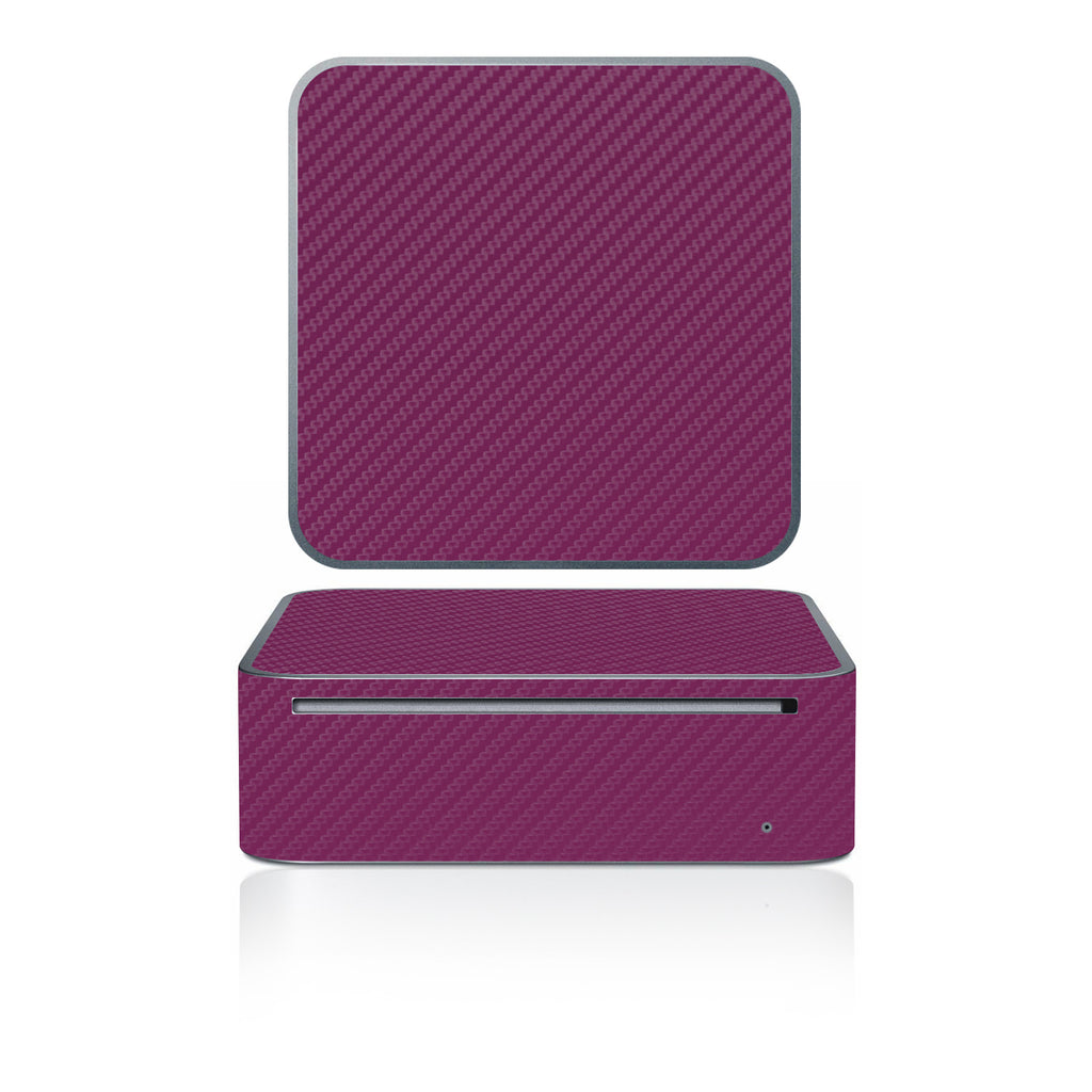 Mac Mini 2005-2009 - Purple Carbon Fiber - iCarbons