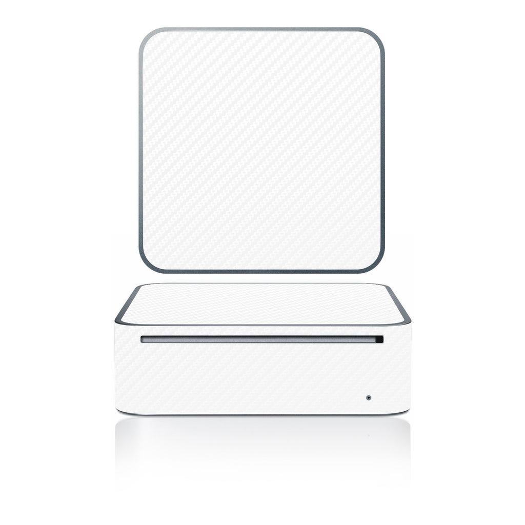 Mac Mini 2005-2009 - White Carbon Fiber - iCarbons