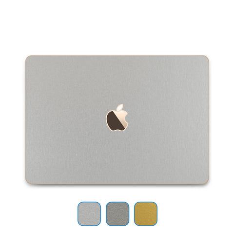 "MacBook 12"" Retina Skin (Early 2015 - Current) - Brushed Metal - iCarbons - 19"