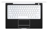 "Macbook 13"" 2006-2009 Polycarbonate - Black Carbon Fiber - iCarbons - 1"