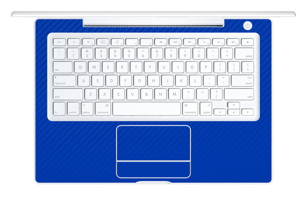"Macbook 13"" 2006-2009 Polycarbonate - Blue Carbon Fiber - iCarbons - 1"