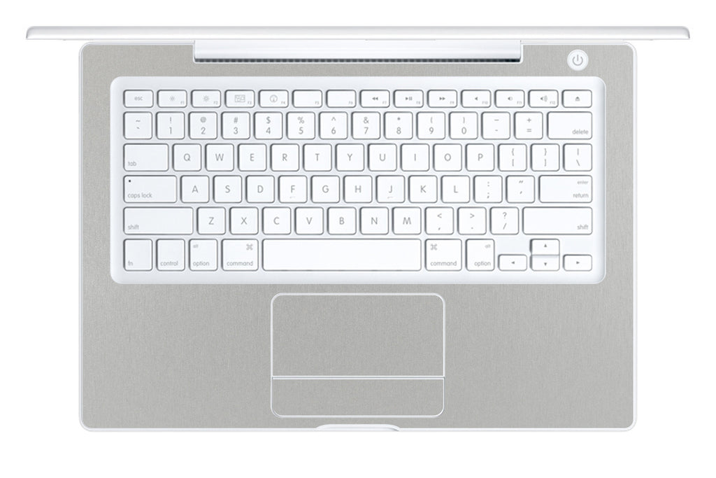 "Macbook 13"" 2006-2009 Polycarbonate - Brushed Aluminum - iCarbons - 1"