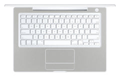 "Macbook 13"" 2006-2009 Polycarbonate - Brushed Aluminum"