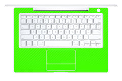 "Macbook 13"" 2006-2009 Polycarbonate - Green Carbon Fiber"