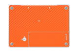 "Macbook 13"" 2006-2009 Polycarbonate - Orange Carbon Fiber - iCarbons - 3"