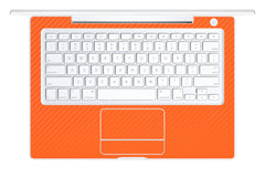 "Macbook 13"" 2006-2009 Polycarbonate - Orange Carbon Fiber"