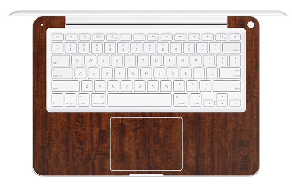 "Macbook 13"" 2009-2011 Polycarbonate - Dark Wood - iCarbons - 1"