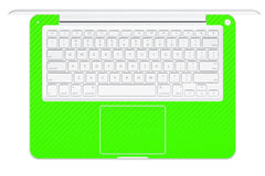 "Macbook 13"" 2009-2011 Polycarbonate - Green Carbon Fiber"