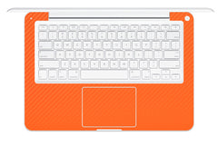 "Macbook 13"" 2009-2011 Polycarbonate - Orange Carbon Fiber"