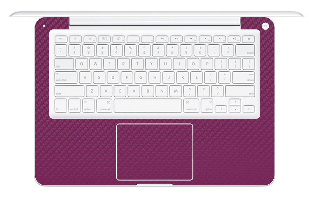 "Macbook 13"" 2009-2011 Polycarbonate - Purple Carbon Fiber - iCarbons - 1"