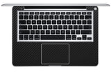 "Macbook 13"" Late 2008 Silver Unibody Skins - Carbon Fiber - iCarbons - 4"