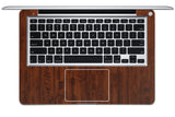 "Macbook 13"" Late 2008 Silver Unibody Skins - Wood Grain - iCarbons - 4"